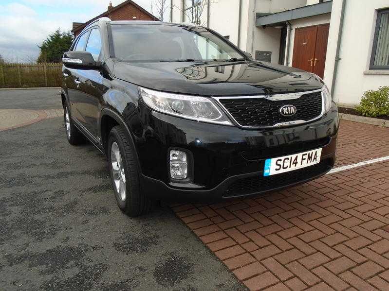 2014 KIA SORENTO 7 LEATHER HEATED SEATER AUTO 4WD FKSH SAT NAV