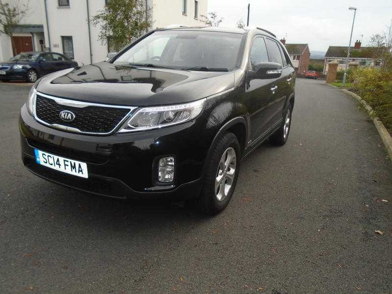 2014 KIA SORENTO 7 SEATER AUTO 4WD FKSH SAT NAV LEATHER SEATS