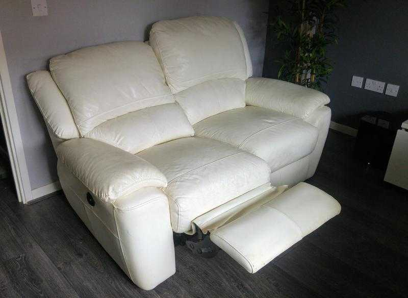 2xSofa Double Power Recliner Akira