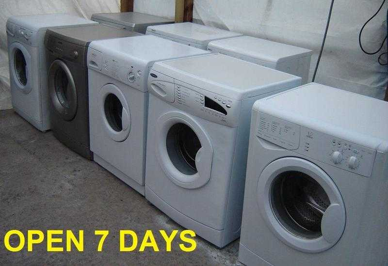 79 Washing machines Local Delivery 3 Months Gtee Birmingham GREAT BARR M6 JUNC 7