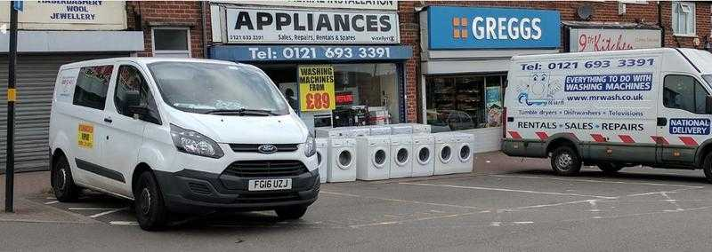 Affordable reconditioned washing machines with warranty