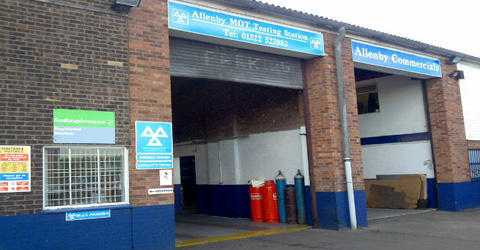 ALLENBY MOT TESTING STATION amp COMMERCIALS