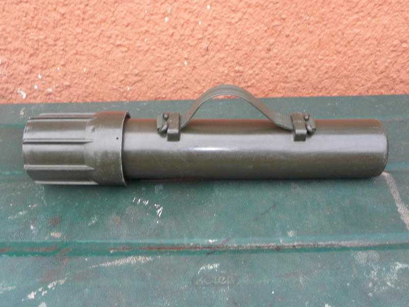 ARMY AMMO TUBE OR CANISTER