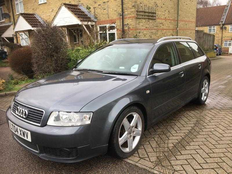 AUDI A4 ESTATE AUTO AVANT 2 REGISTERED KEEPERS ONLY 80K MILES FULL HISTORY PARKING SENSORS