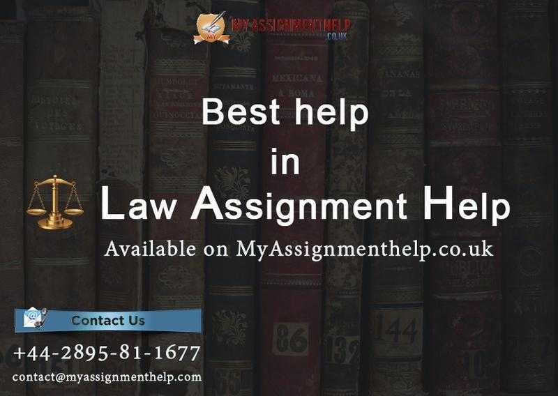 law assignment help melbourne The law assignment help that you gave was the perfect one that i needed the essay was delivered on time and i was notified when i will get and the best part is the paper that i got.