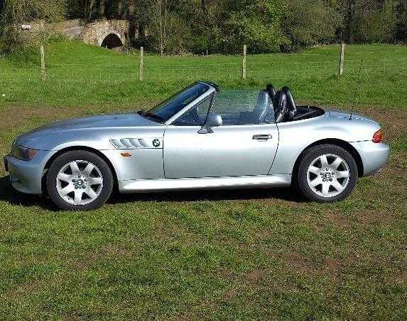BMW Z3, roadster convertible (private plate)   ( vgc)  may px