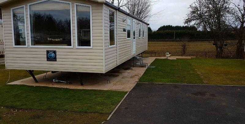 CHEAP DOUBLE GLAZED STATIC CARAVAN 2008 SWIFT MOSELLE 2 BED IN THE BORDERS