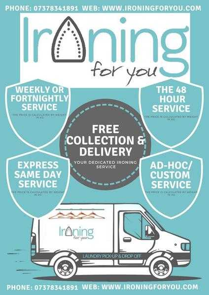 Clothes Ironing Service in Coventry - Free Collection amp Delivery