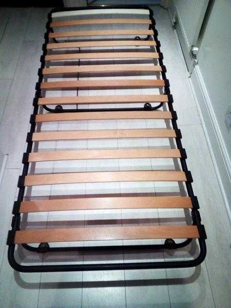 COLLECT ONLY (Westminster) 2 x Single 80x190cm Slatted Bed Base