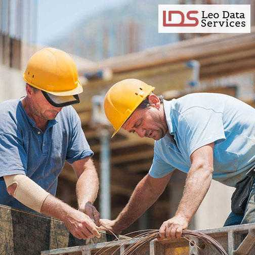 Construction Industry Email List  Leo Data Services