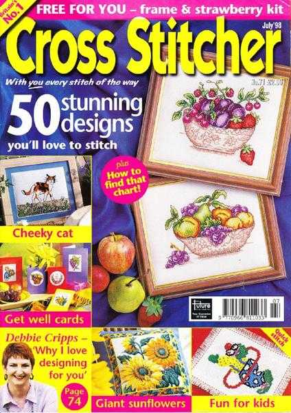 Cross Stitch Books and Magazines