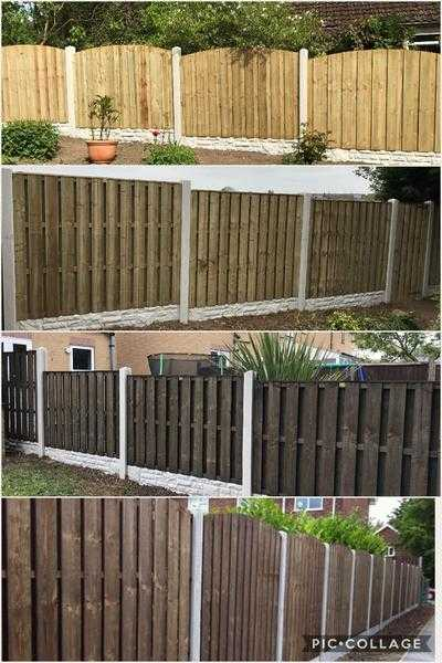 D M Fencing  services all types of fencing  professionally fitted