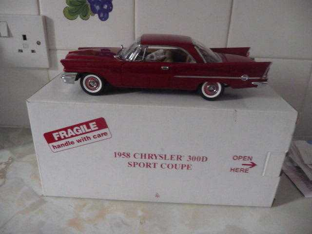 Danbury mint 1958 Chrysler 300D sport coupe