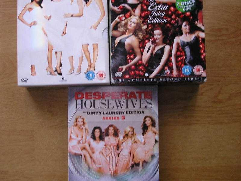 Desperate Housewives series 1 to 3 boxsets