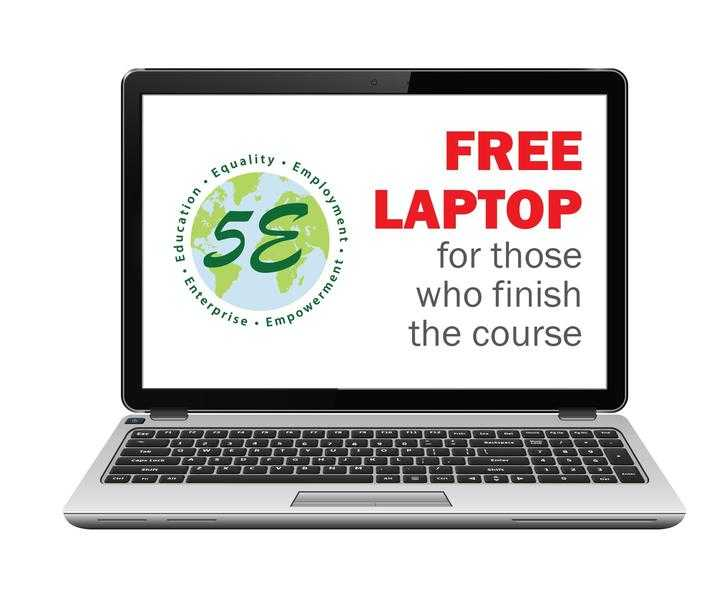 Free IT course with free laptop