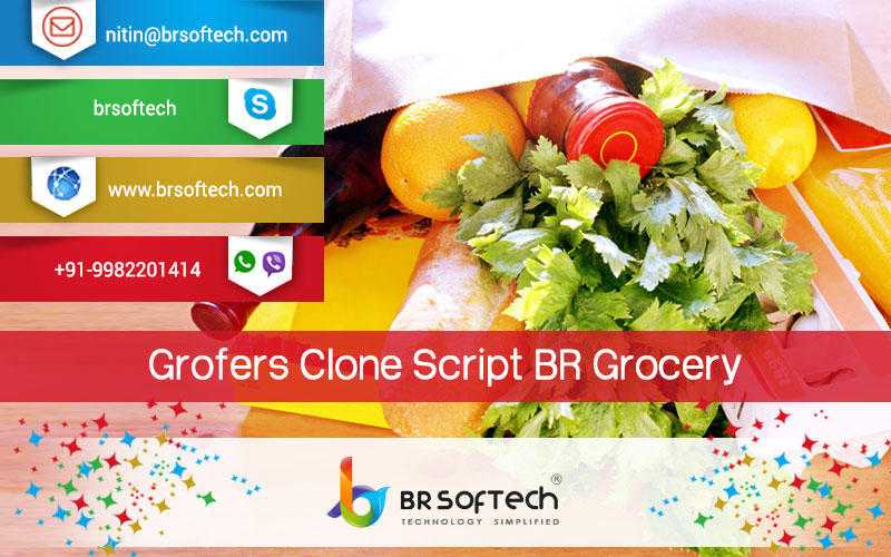 Grofers Clone Script By BR-Softech Pvt.Ltd