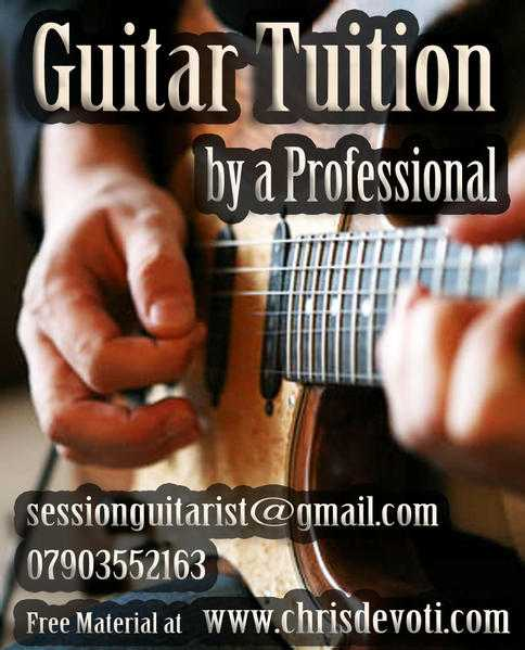 GUITAR TUITION FOR ALL