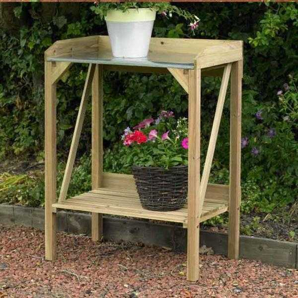 Hardwearing Wooden Potting Table (NEW  FREE Local Delivery)
