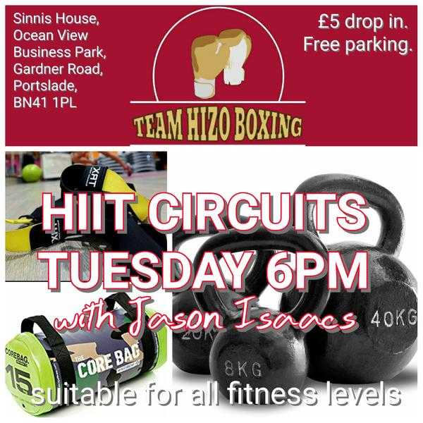 HIIT CIRCUITS  .GROUP FITNESS CLASSES