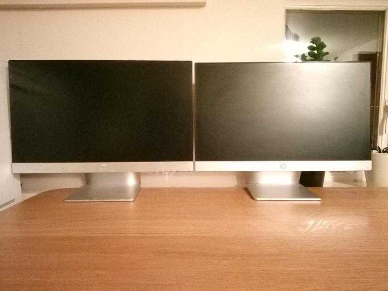 HP Pavilion 23xi monitors Each 80 or both 120
