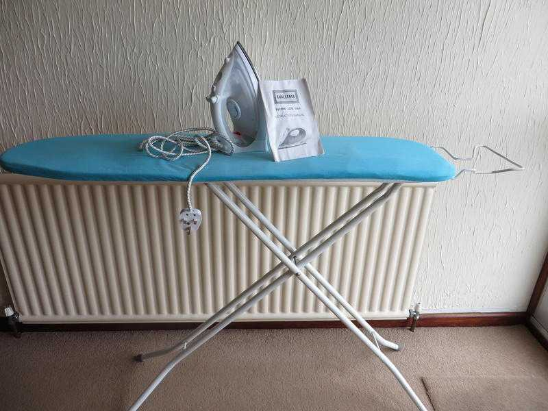 Ironing Board and Iron- Steam.