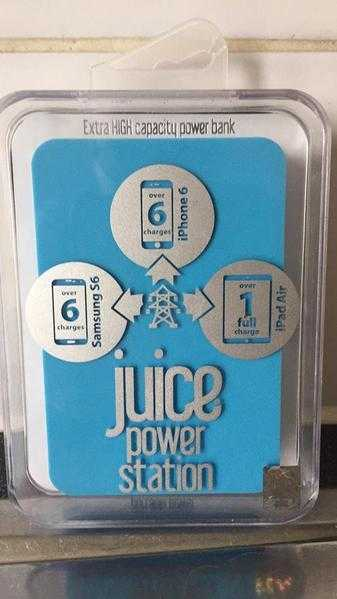 Juice power station NEW IN SEALED BOX