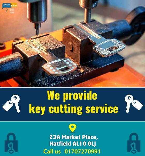 Key Cutting Service Hatfield