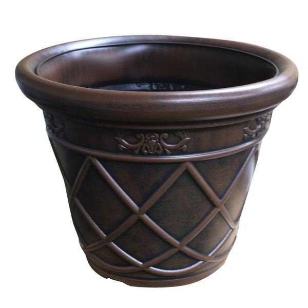 Large Ceramic Effect Plastic Planter (NEW  FREE Local Delivery)