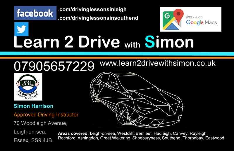 Learn 2 Drive With Simon - Driving school based in Leigh-onSea
