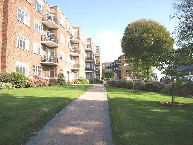 Lovely 3 bedroomed flat WITH PARKING set in communal gardens, opposite Dyke Road park.