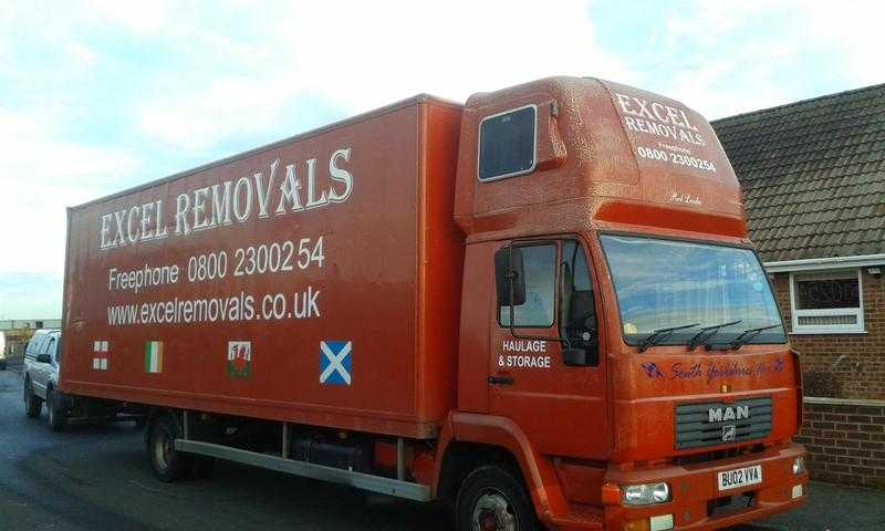 Man 7.5 tonne ex removal lorry