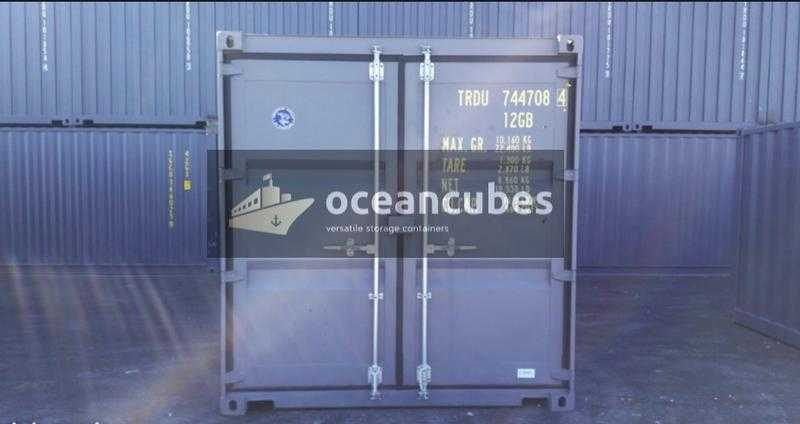 Mini 10FT Shipping Containers (Used) Delivery to Belfast amp Surrounding Areas
