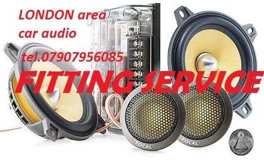 mobile CAR AUDIO RADIO FITTING SPECIALIST head unit changes installation speakers mobile fitter LONDON area