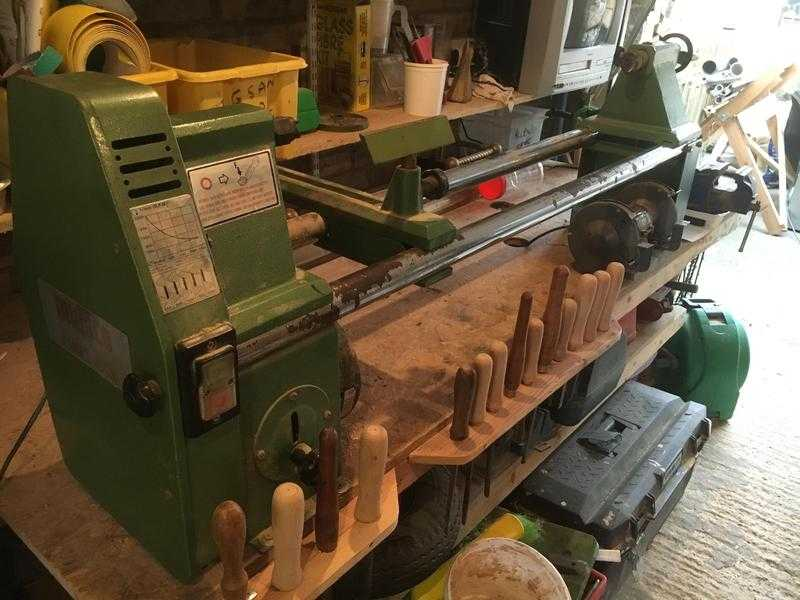 Multico Pro-Mex woodworkers lathe in good condition