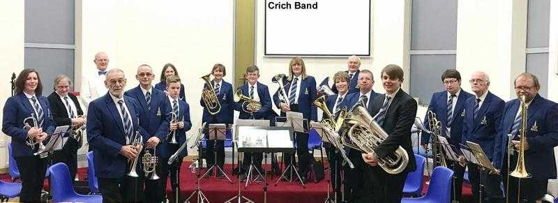 Musicians wanted for a Brass band based in Crich