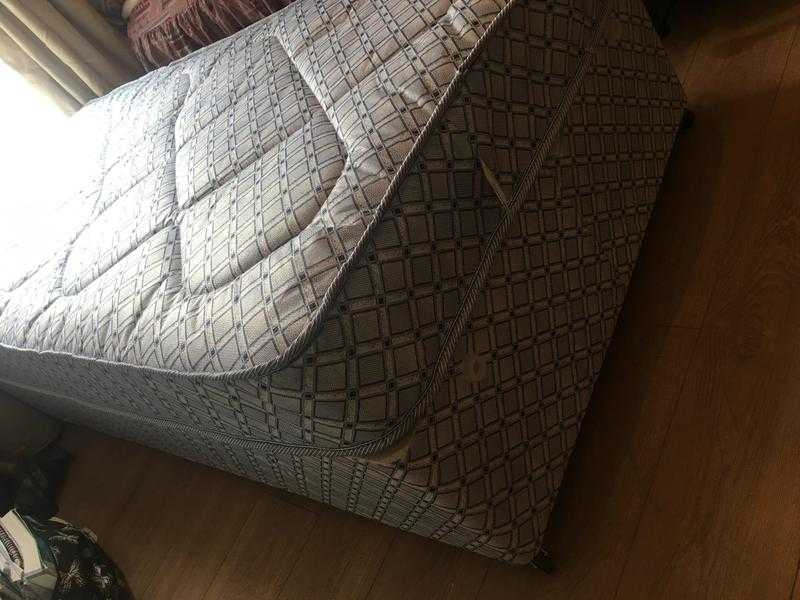 New Single Bed With Mattress.