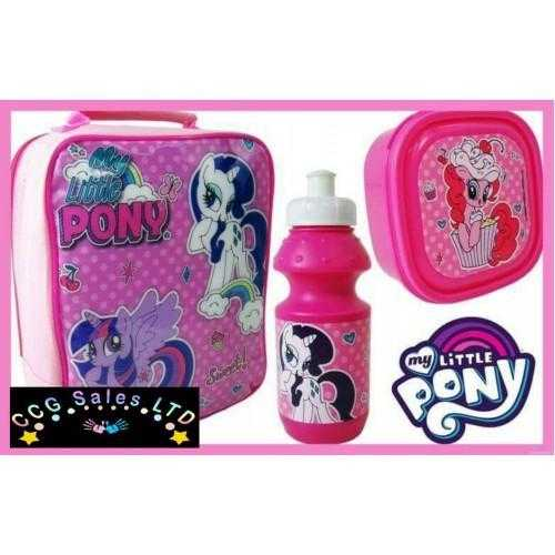 Official My Little Pony 3pc Lunch Bag
