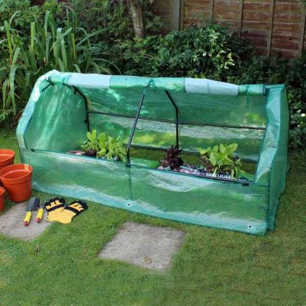 Open Sided Greenhouse Seeding Cloche - New  FREE Local Delivery