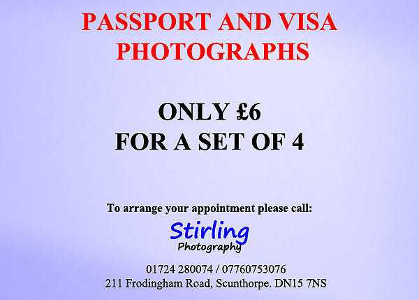 Passport Photographs