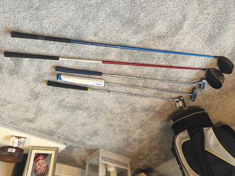 Ping full set clubs, Taylor made putter plus Motor caddy ( battery, charger amp cover)