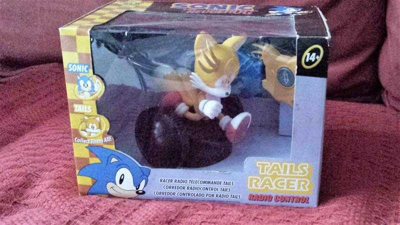 Rare Sonic The Hedgehog Radio Control Tails Racer NewSealed Box Collectors Item