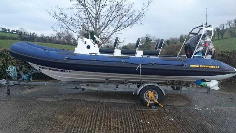 REDBAY STORMFORCE 6.5MT 2003  SUZUKI  250HP        17500