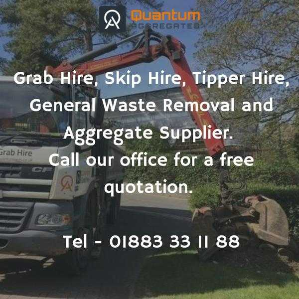 Reliable Grab Muck Away amp Skip hire service