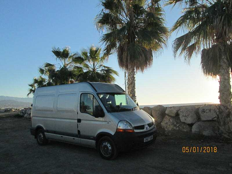 Renault Master holiday ready
