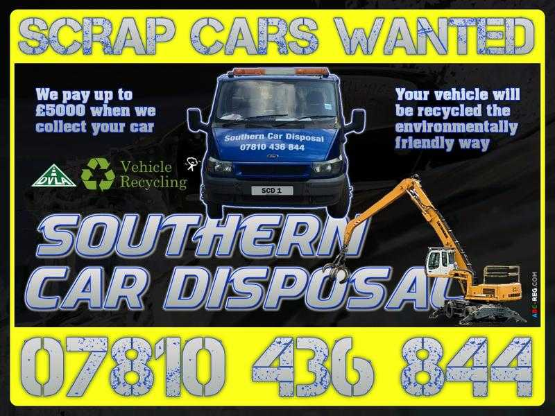 Scrap Vehicles Wanted - MOT Failures, Non-Runners amp Accident Damaged Vehicles Collected