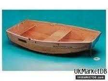Seahopper Nifty Fifty wooden folding dinghy.