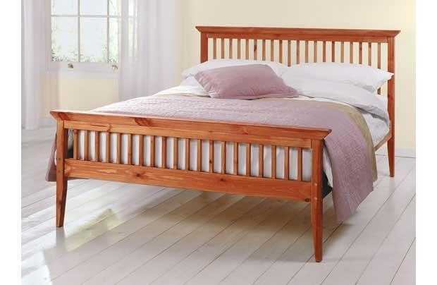 Shaker Style Double Bed Frame