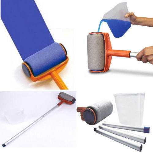 Smarty PaintPro Revolutionized Paint Roller amp 1x Sofa, Settee Storage Bag, Plastic Covers protector