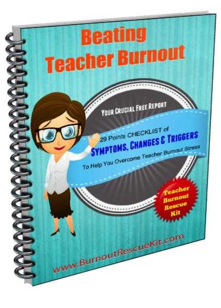 Stop Teacher Burnout