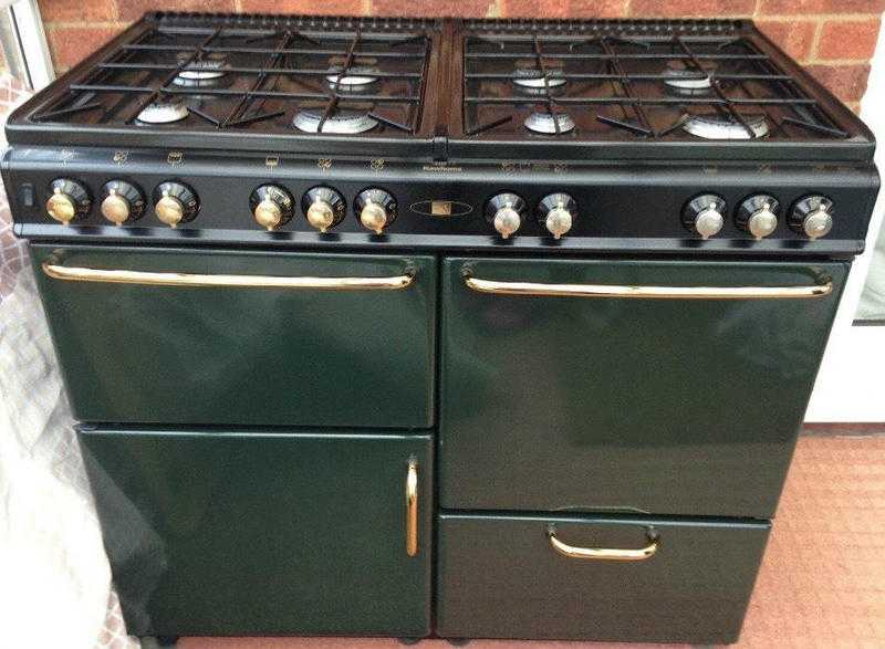 Stoves Newhome 100cm Dual fuel Range cooker